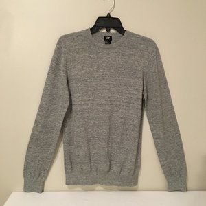 H&M grey crew neck sweater - like new - small